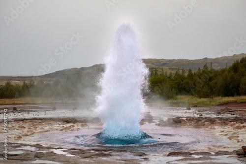 Slika na platnu Strokkur Geyser, Iceland's Golden Ring