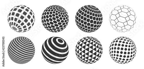 Photo Sphere Vector Set