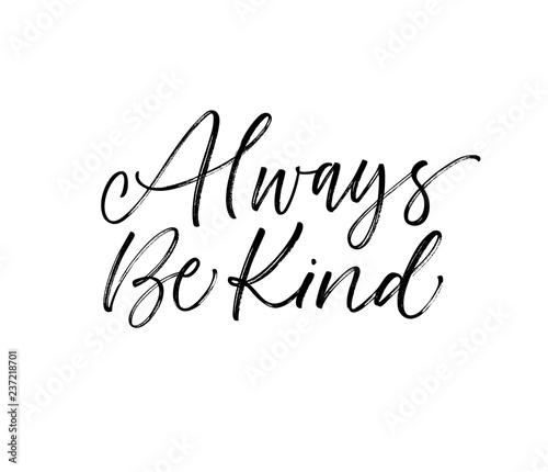 фотография Always be kind card