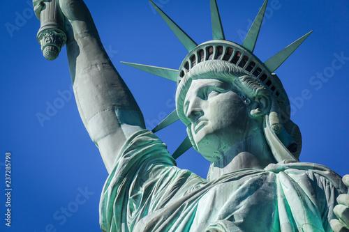 Photo Closeup of the Statue of Liberty, New York City, USA