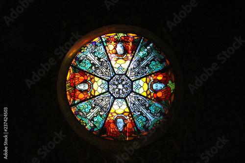 Fototapeta stained glass window
