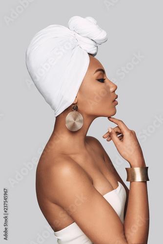 Canvas Print African queen.