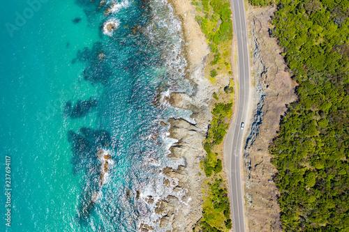 Canvas Print Great Ocean Road in Australia