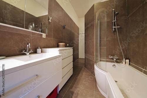 Fotografija salle de bain appartement bain douche