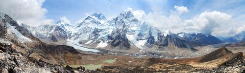 Fotografie, Obraz Mount Everest Khumbu Glacier Nepal Himalayas mountains
