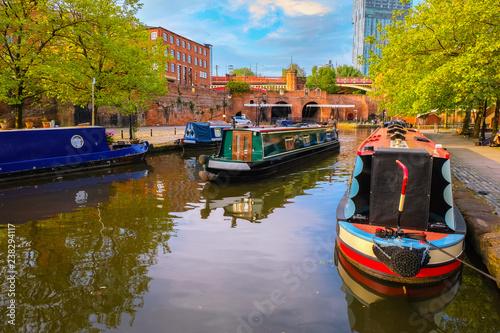 Fotografia Castlefield - inner city conservation area in Manchester, UK
