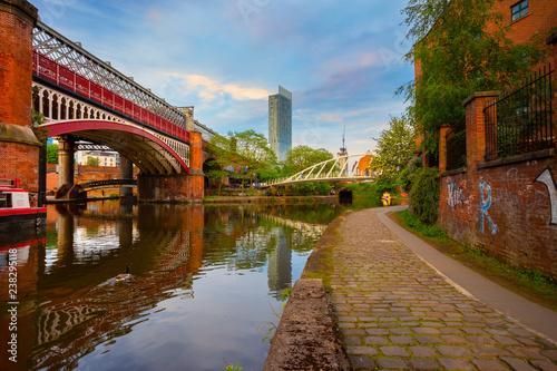 Wallpaper Mural Castlefield - inner city conservation area in Manchester, UK