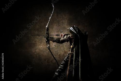 Wallpaper Mural Portrait of an archer