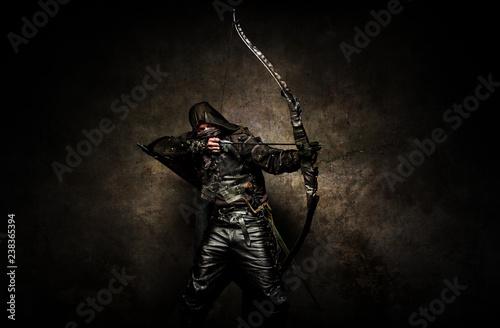 Photo Portrait of an archer