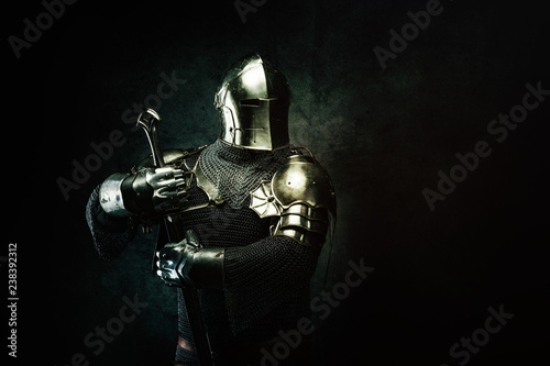 Fototapeta Portrait of a Templar