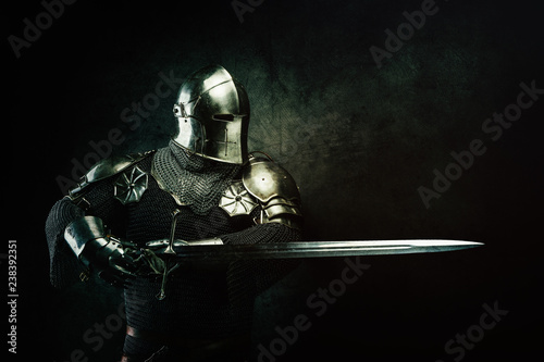 Canvas Portrait of a Templar