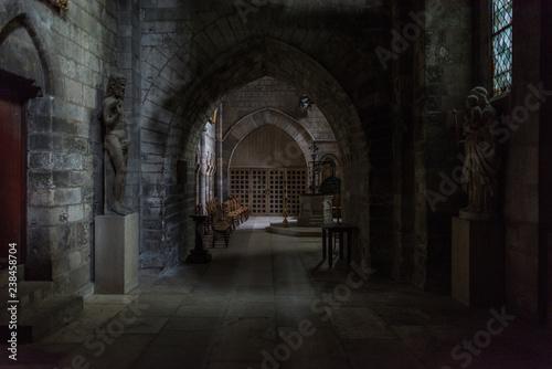 Obraz na plátně Rouen Cathedral French city of Rouen