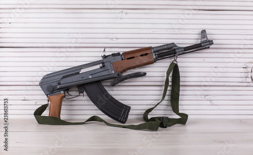 Obraz na plátně Kalashnikov assault rifle