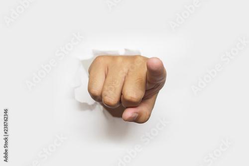 Canvastavla I want you - we want you pointing finger