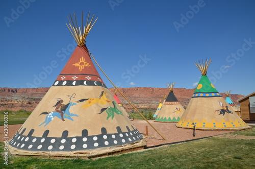 Obraz na płótnie TIPIS CAPITOL REEF NATIONAL PARK (UTAH) USA