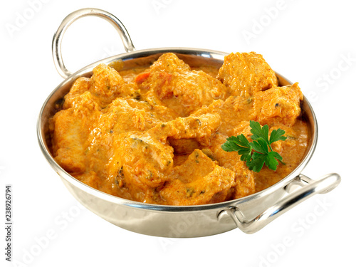 Canvas-taulu CHICKEN TIKKA BALTI CURRY          CLOSE UP FOOD IMAGE