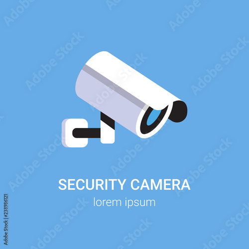 Fotografie, Obraz CCTV surveillance system security camera monitoring equipment on wall profession