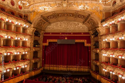 Obraz na płótnie Teatro Vincenzo Bellini in Catania