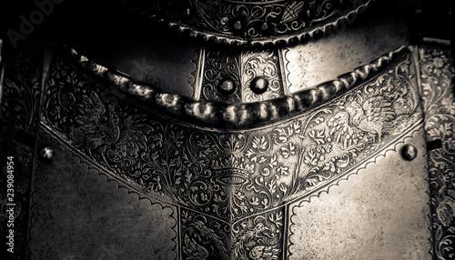 Obraz na plátne Medieval Armor Detail