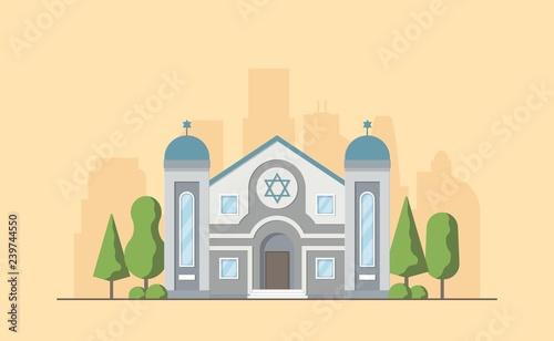 Obraz na płótnie Synagogue