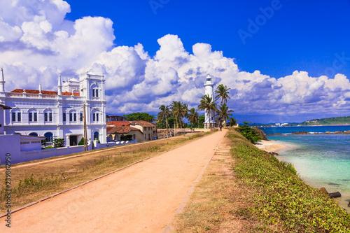 Canvastavla Landmarks of Sri  Lanka - Galle fort, south of island, popular tourist destinati