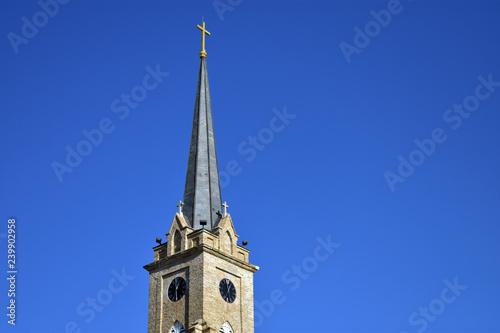 Fotografia, Obraz tower of the church