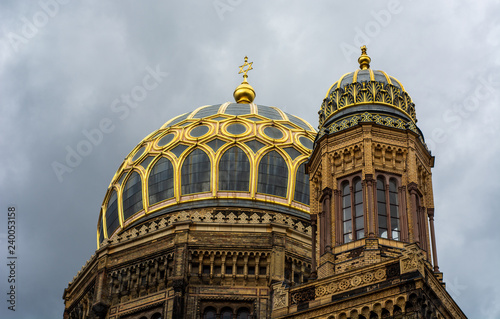 Obraz na płótnie Synagogue in Berlin