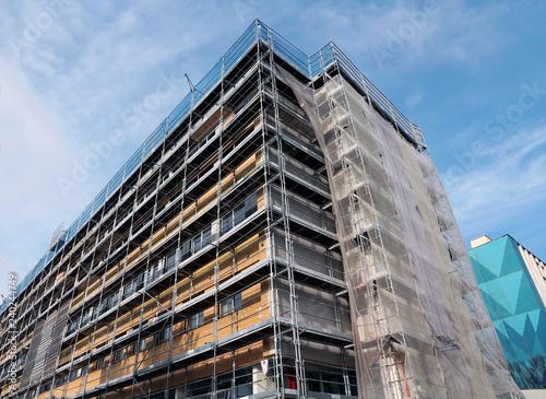 Canvas-taulu scaffolding
