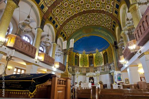 Fotografia Intnnier of the Moscow Choral Synagogue