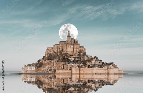 Fotografie, Obraz Mont Saint Michel