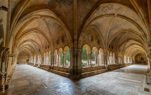 Details of the Cathedral of Tarragona, Catalonia, Spain