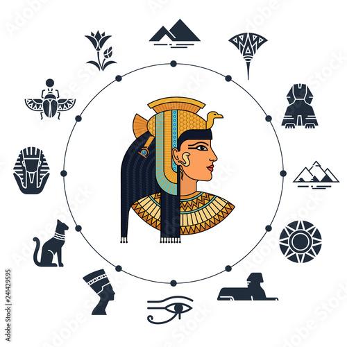 History landmarks of Egypt Fototapeta