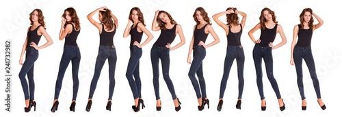 Fotografia Collage sexy fashion models