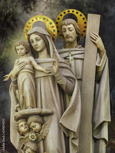 Fototapeta The Holy Family of Nazareth
