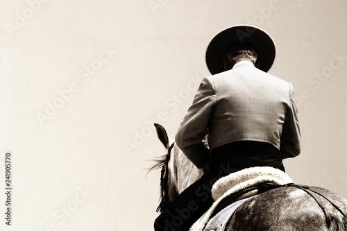 Photographie spanish horse rider