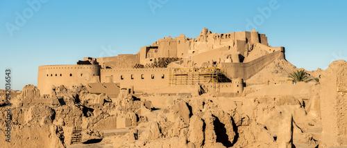 Tela Panoramic view of Arg-e Bam - Bam Citadel, near city of Kerman, rebuilt after ea