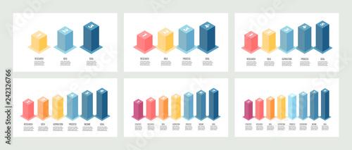 Fotografia Isometric infographics