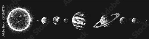 Fotografija Sun and all planets
