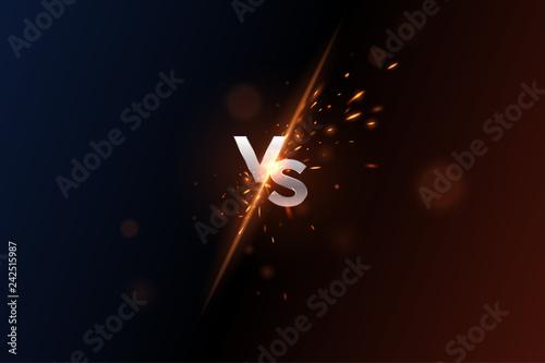 Versus vs background Fototapete