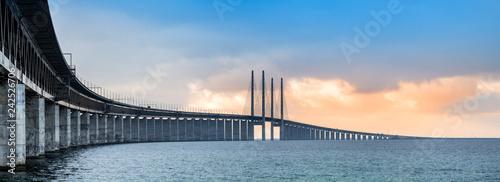 Photo The Oresund bridge panorama