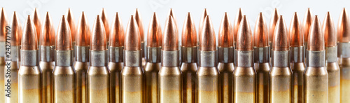 Fotografiet Hunting cartridges of caliber. 308 Win
