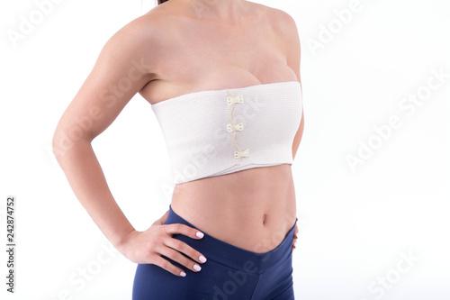 Foto bandage breast enlargement