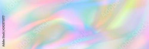 horizontal abstract pastel holographic texture design for pattern and background