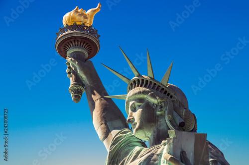 Canvas Print American symbol - Statue of Liberty. New York