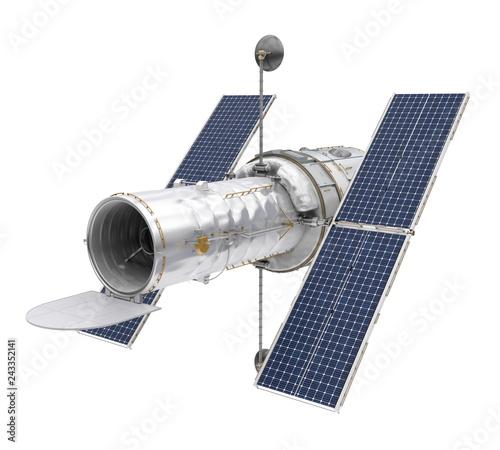 Fotografia, Obraz Hubble Space Telescope Isolated