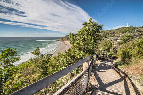Valokuva Walk along Byron Bay