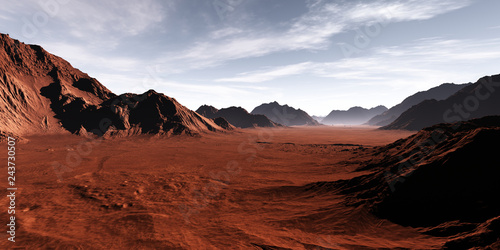 Fotografering Fantasy desert landscape