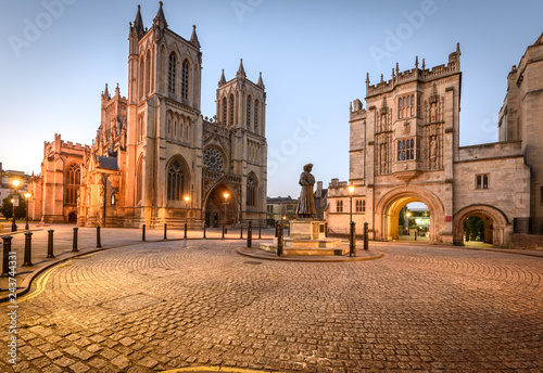 Tablou Canvas Bristol Cathedral UK