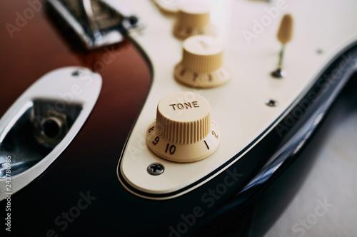 Wallpaper Mural Close-up of electric guitar