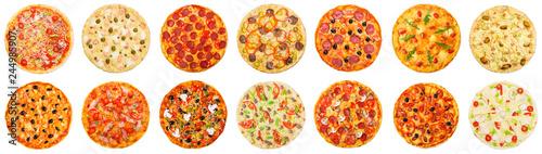 Obraz na plátně Choose your pizza concept